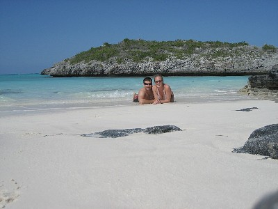 North Caicos condo rental - Relax after a snorkel at Three Mary Cay