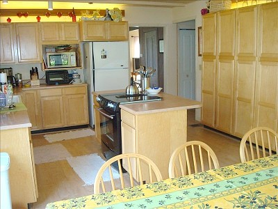 Napa house rental - Lovely Kitchen