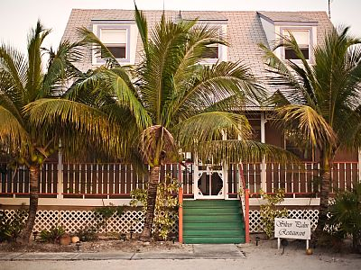 North Caicos condo rental - Silver Palm Restaurant - 20 minute walk on the beach