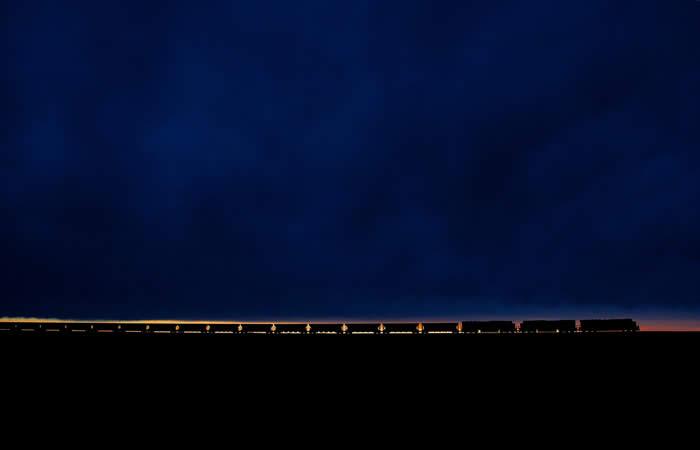 http://twistedsifter.com/2013/03/coal-train-at-sunset-powder-river-basin/
