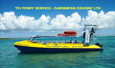 North Caicos condo rental - Reliable Water Ferry Service between Provo and North Caicos multiple runs daily