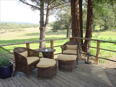 Napa house rental - Relaxing Patio Area