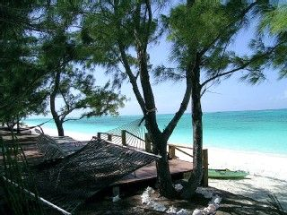 North Caicos condo rental - Enjoy the gentle trade breeze on the beach deck