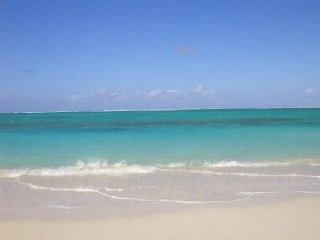 North Caicos condo rental - Hollywood Beach - in front of your suite